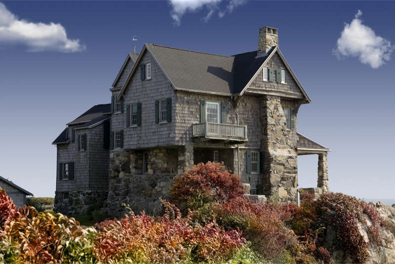 What are the advantages of stone houses?